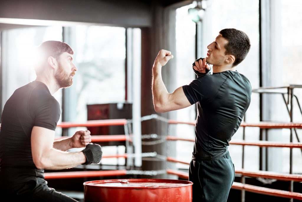 Technique pour la boxe